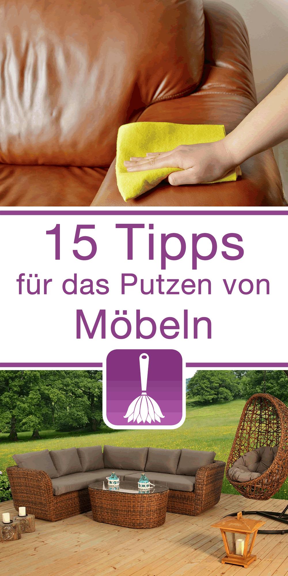 15 tipps tricks f r das putzen von m beln putzen. Black Bedroom Furniture Sets. Home Design Ideas