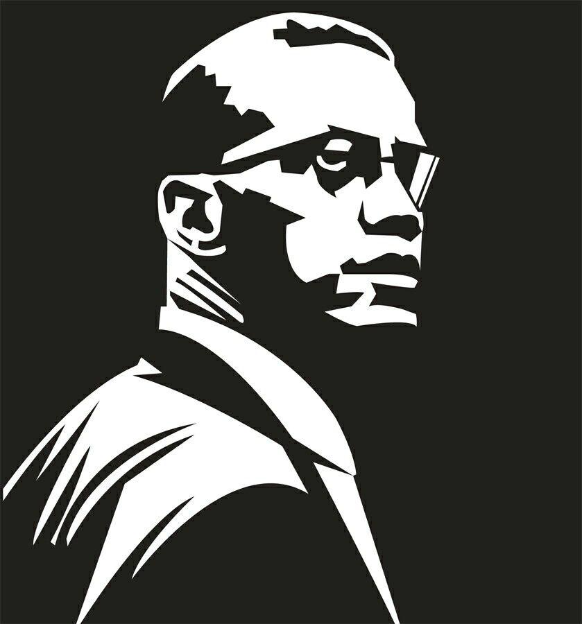 Malcolm X Black Love Art Black Panther Art Malcolm X