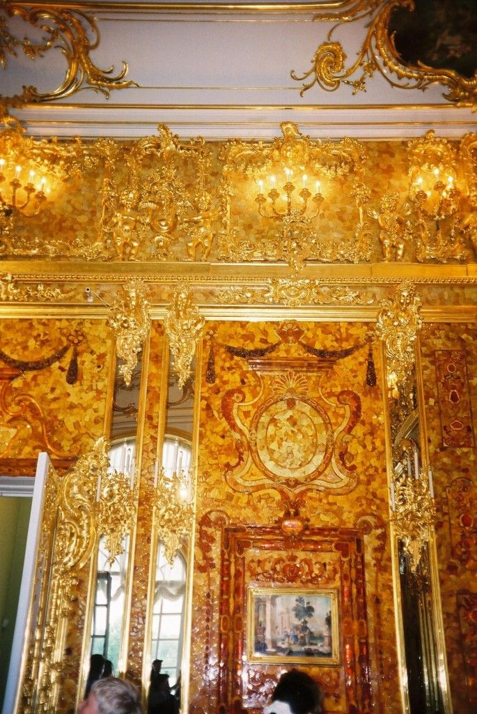 Amber Room detail