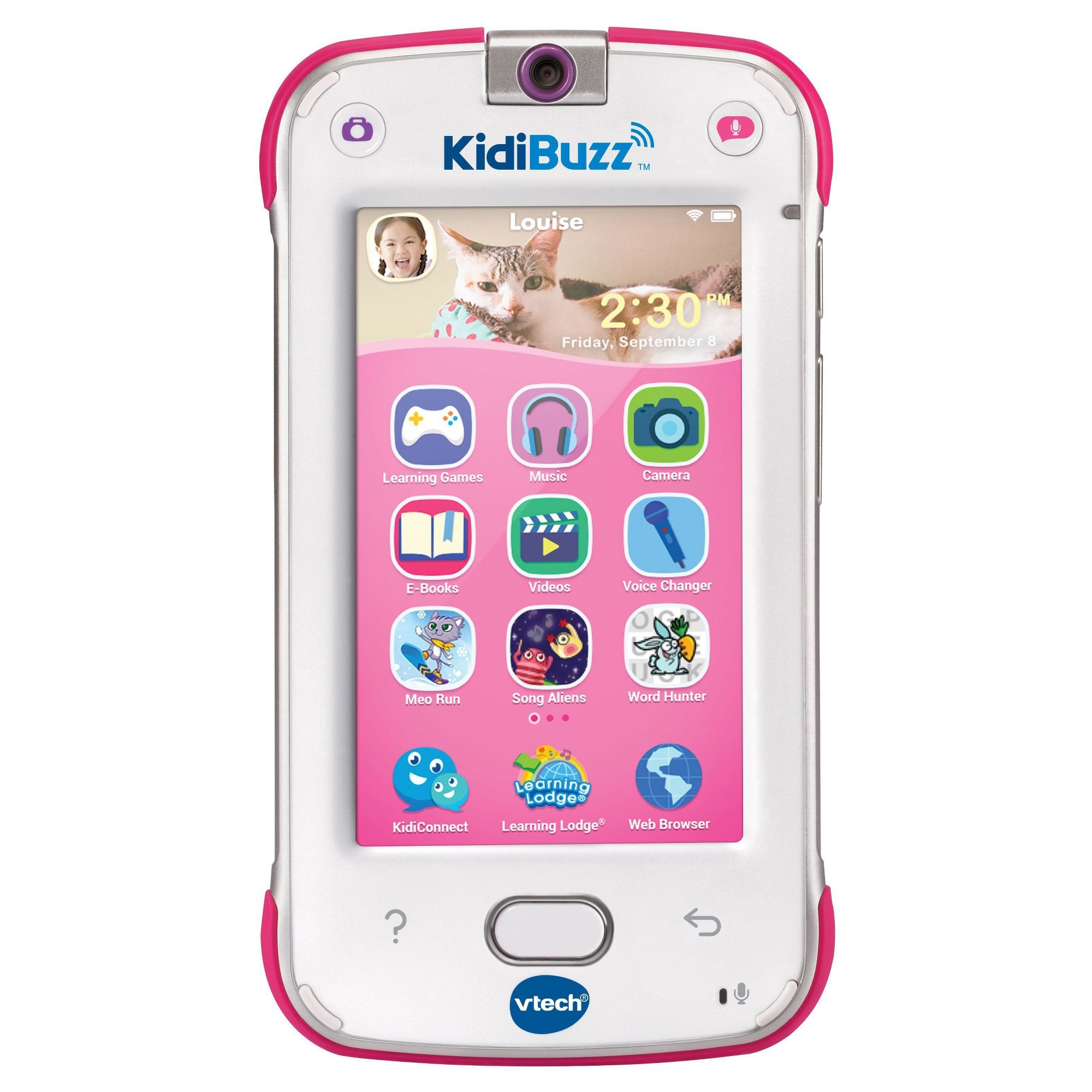 VTech Kidibuzz Pink Smart device, Toys for girls, Kids
