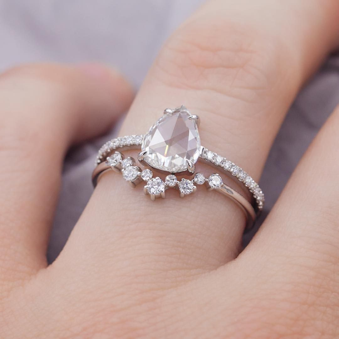 Curved Marquise Diamond Band | Pinterest | Perfect wedding ...