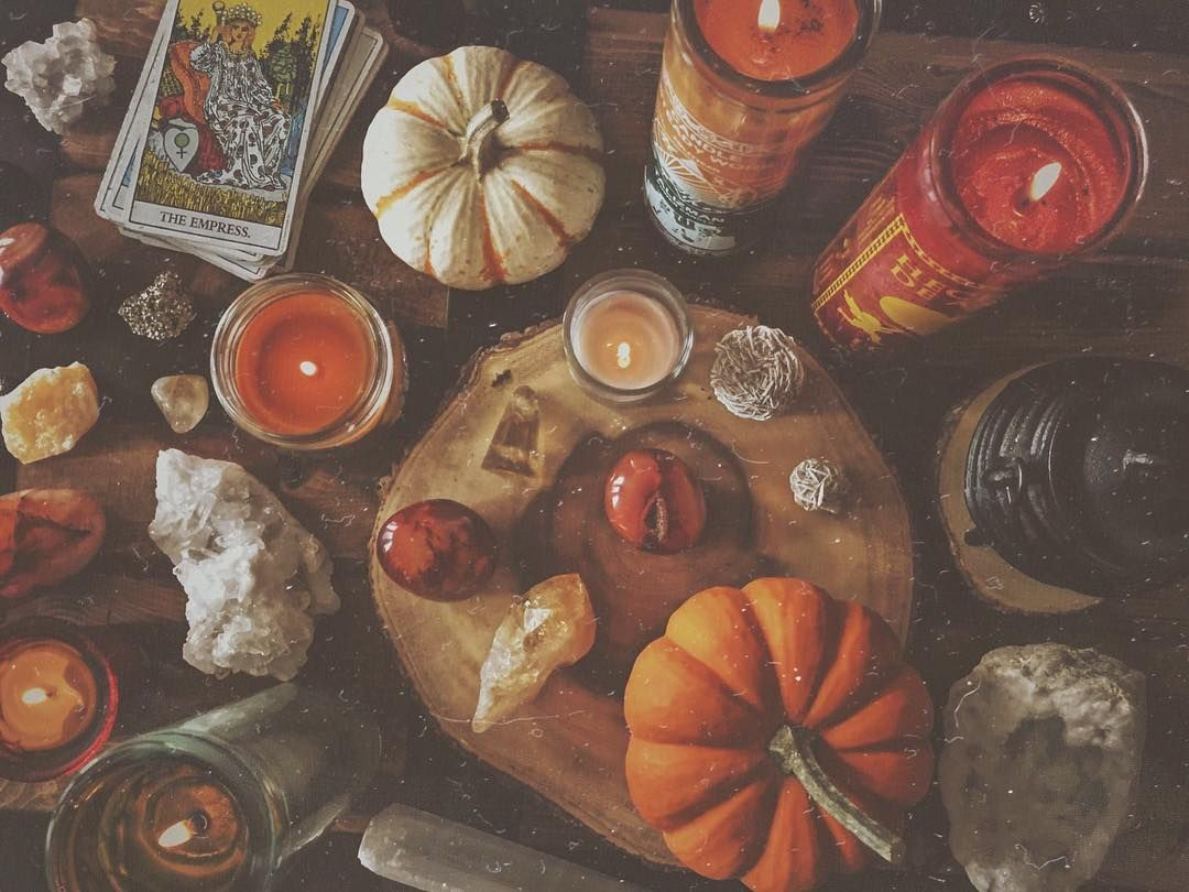 Candle magic along with all of my fabulous fall scented