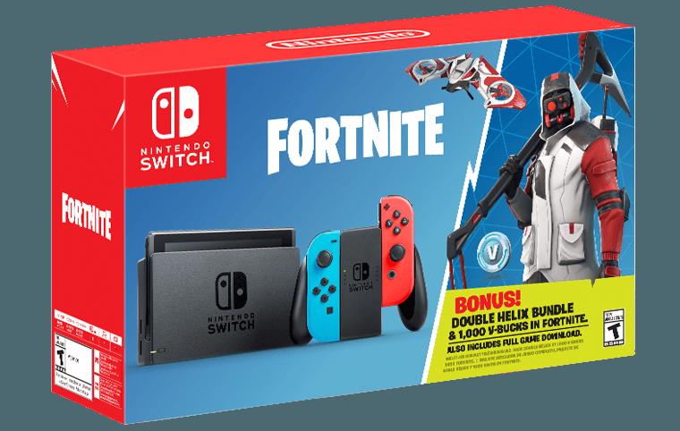 Nintendo Switch Fortnite Double Helix Bundle Patineta Electrica Patineta Electrica
