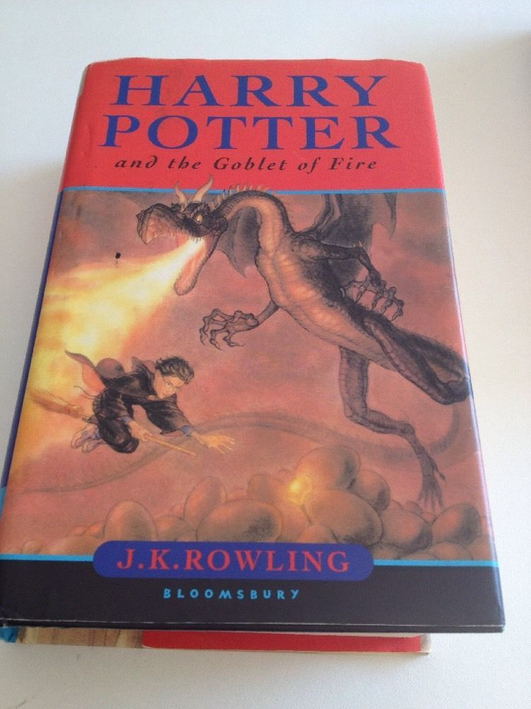 Harry potter and the goblet of fire 1st edition hardcover