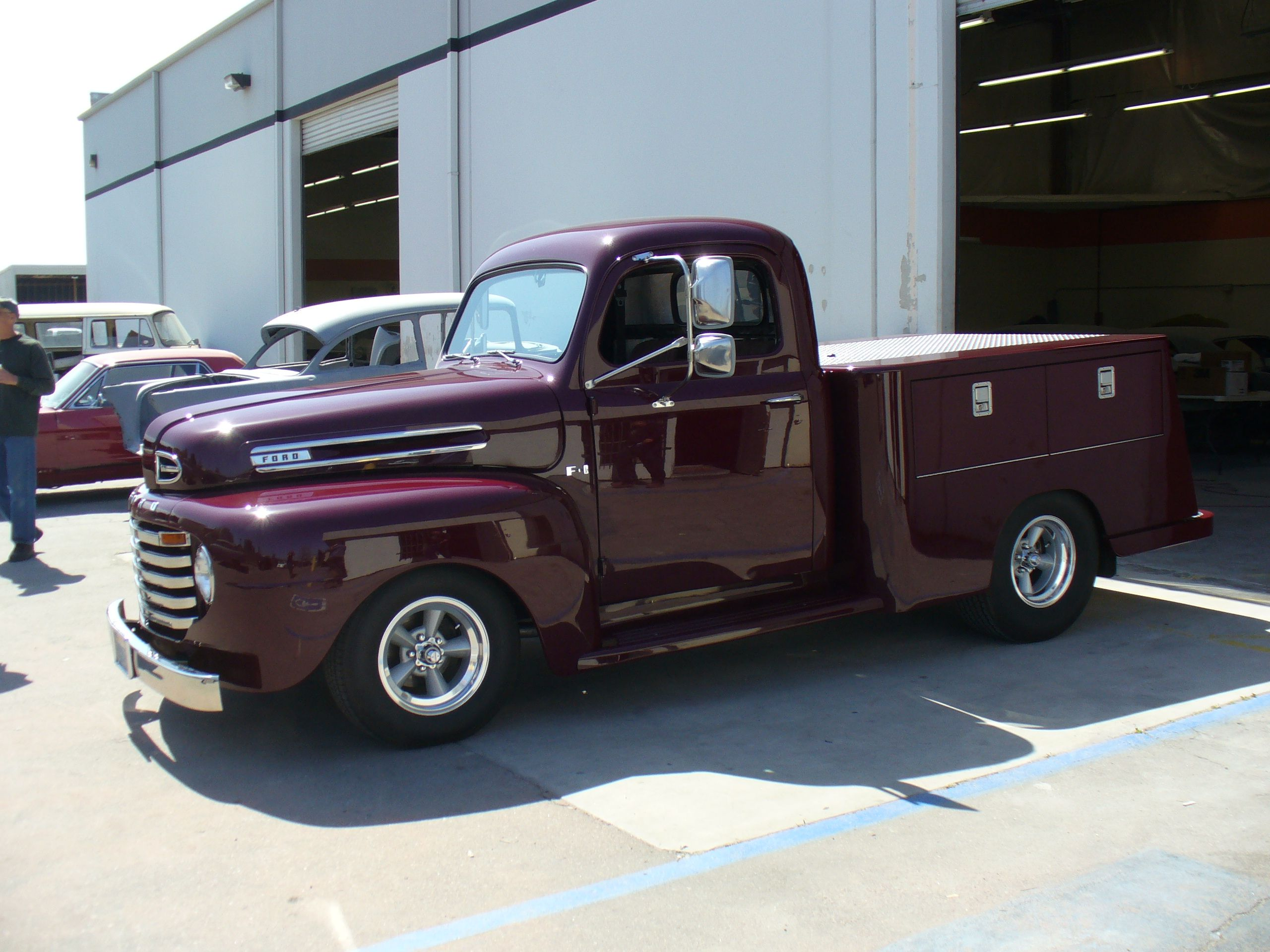 1949 Ford Pickup Socal Paint Works Santee Ca Custom Built