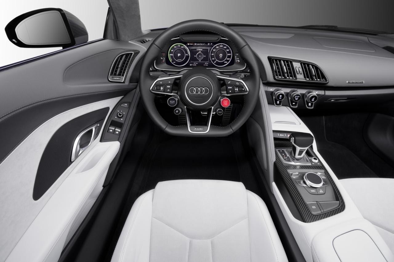 2018 Audi R8 E Tron Interior Design