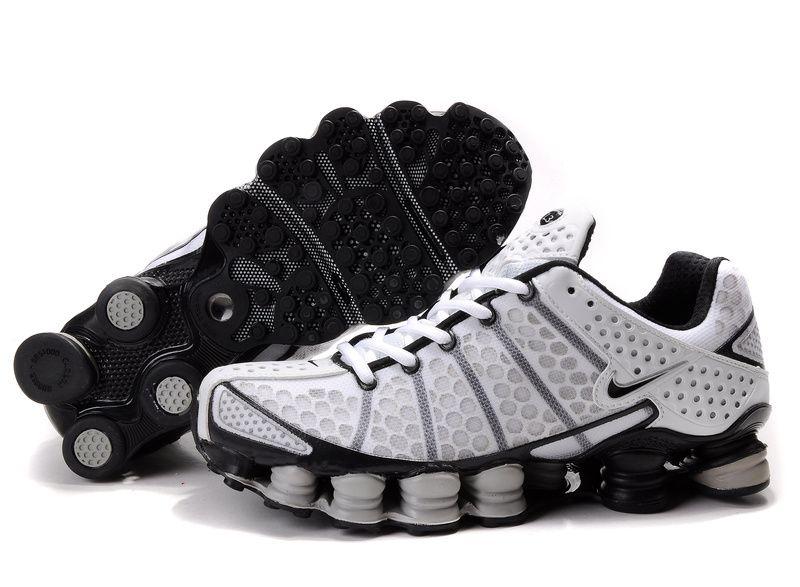 e24634e1b4d5 Nike Shox Tl3 White-black 421265 101