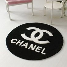 Black Base Cc Logo And White Letters 122cm Rugs Carpets China Mainland