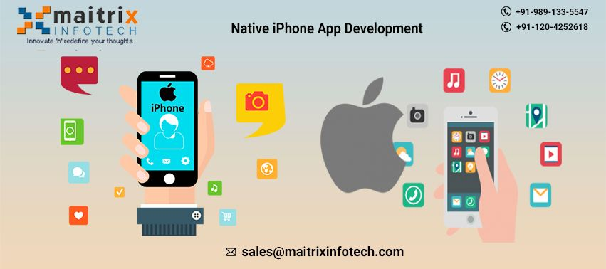 Maitrix infotech is the leading iPhone app development