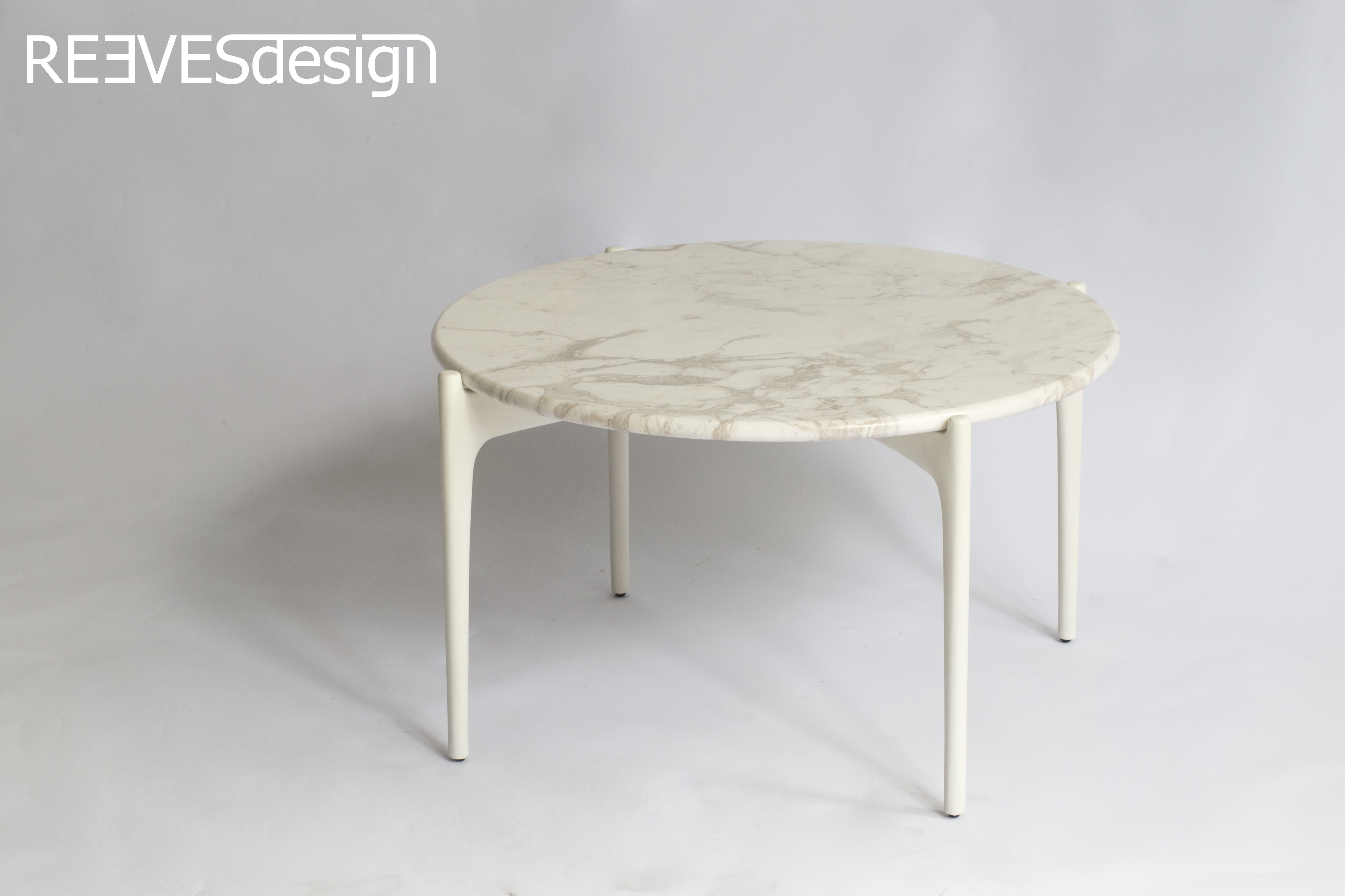 Beautiful Geometric Round Coffee Table Designed By John Reeves - Geometric round coffee table