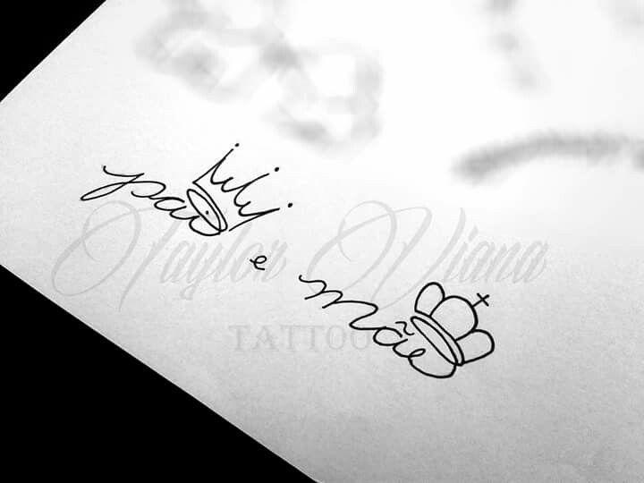 Pai E Mãe Tatuagens Pai Mãe E Pai Tatuagem E Tatuagem