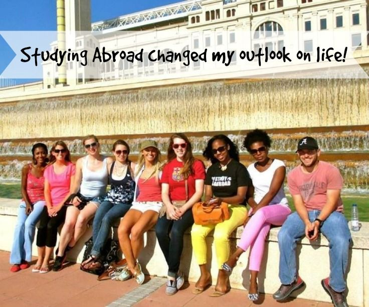 Studying Abroad totally gave me a different outlook on