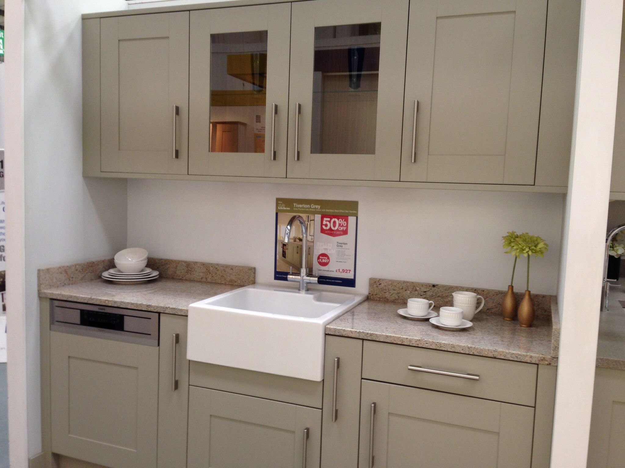 kitchen units wickes tiverton grey kitchen