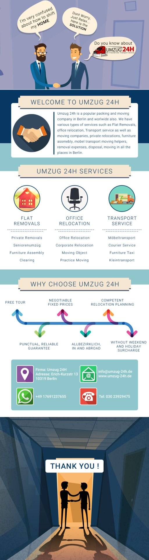 Relocation Service Berlin umzug 24h is a popular packing and moving company in berlin and