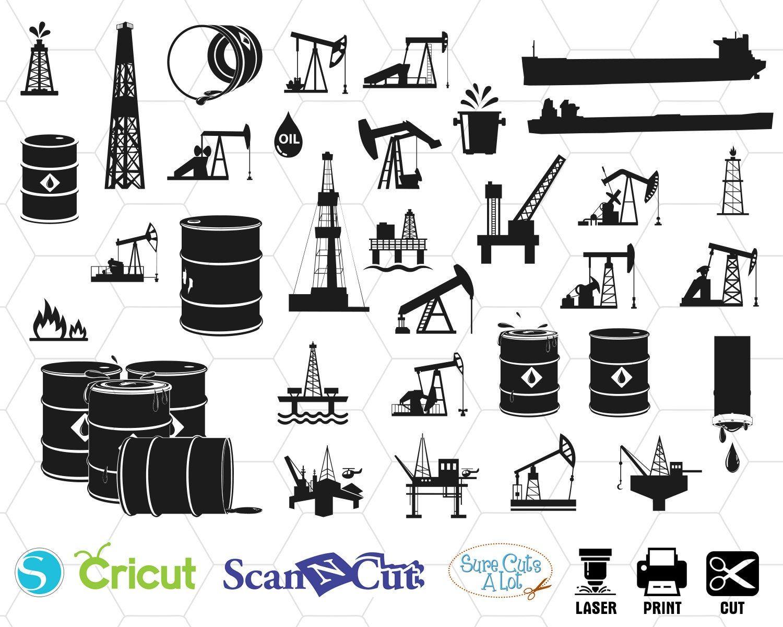 Oilfield Svg Oil Derrick Cricut Oilfield Wife Svg Oil