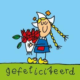 gefeliciteerd met je verjaardag holland
