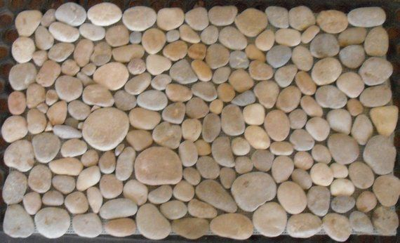 Rock Rug Welcome Mats Rugs Beach Cottage Decor