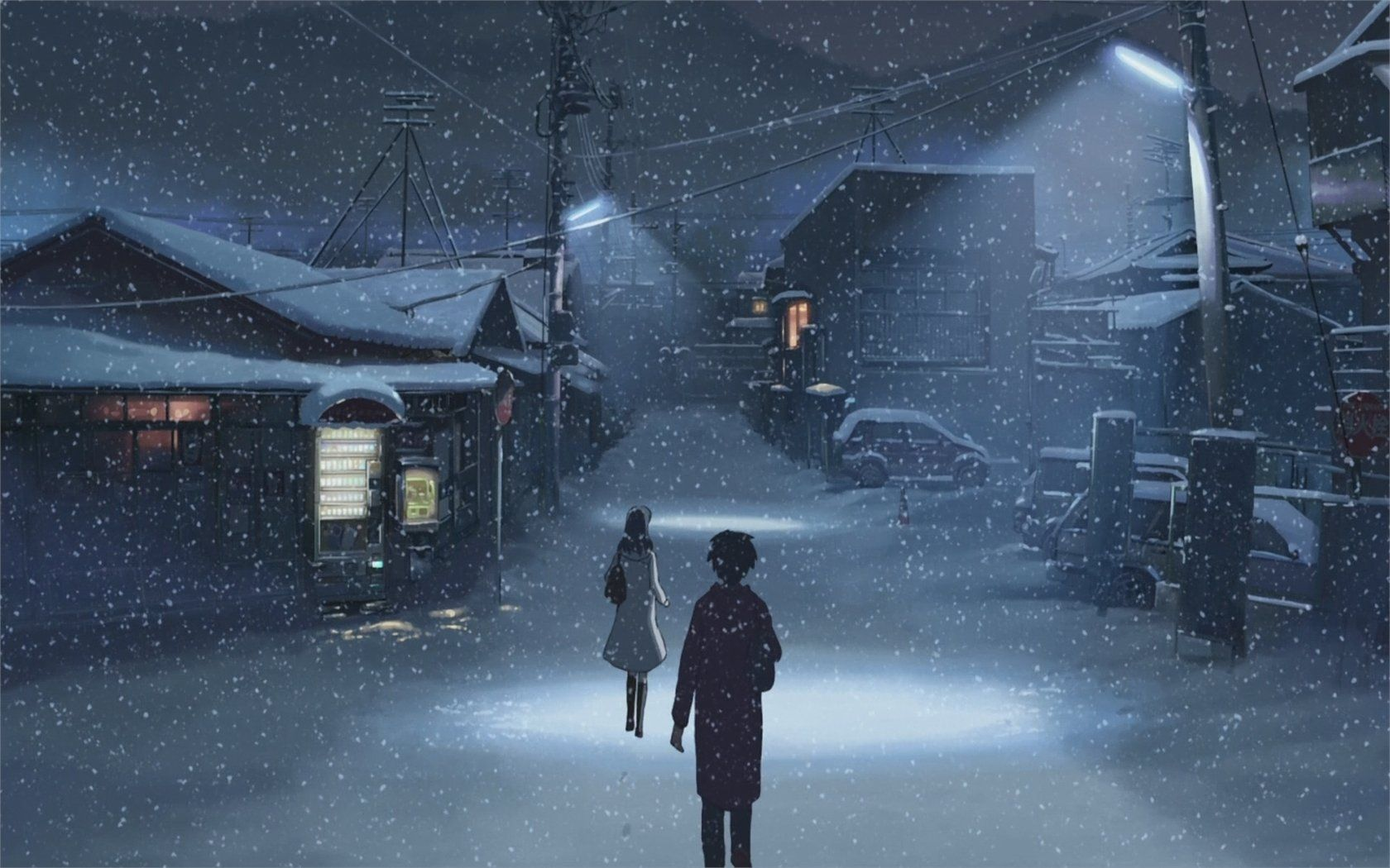 Anime 5 Centimeters Per Second Takaki Touno Akari Shinohara