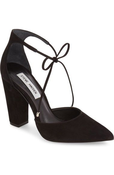 STEVE MADDEN Pamperd Lace-Up Pump. #stevemadden #shoes #flats