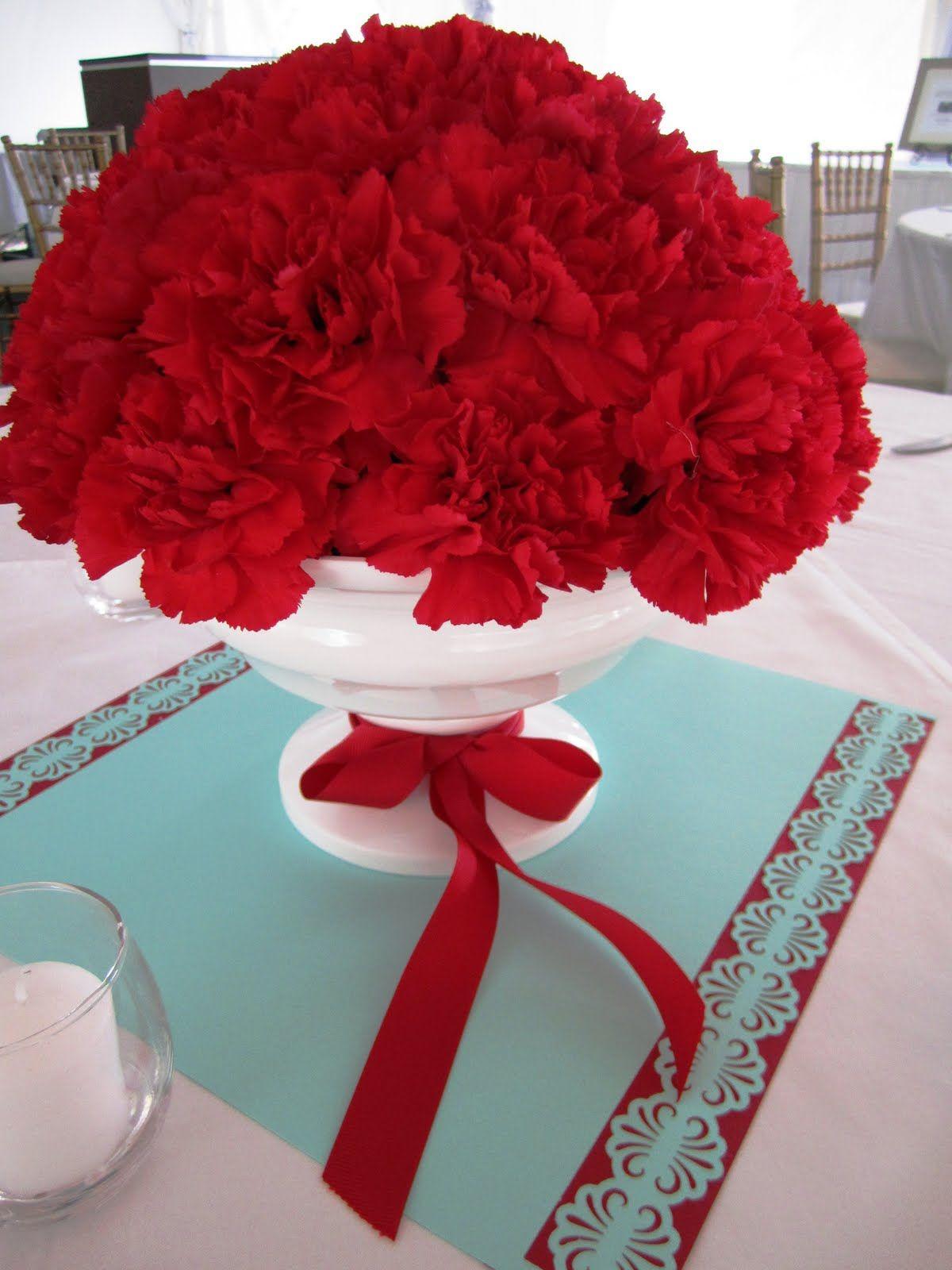 Jeff French Floral Event Design September 2010 Red Wedding Floral Event Design Red Carnation