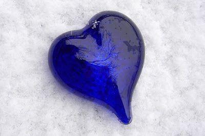 Glass heart.