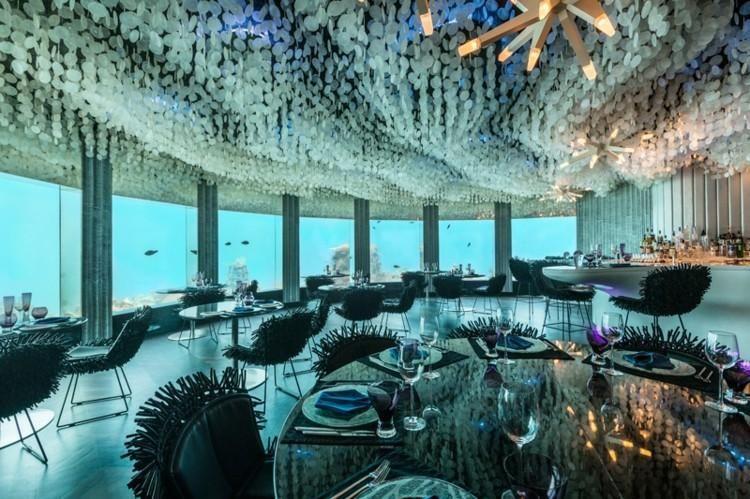 Stehlen Design restaurants mit dachgestaltungen die aussehen stehlen restaurant