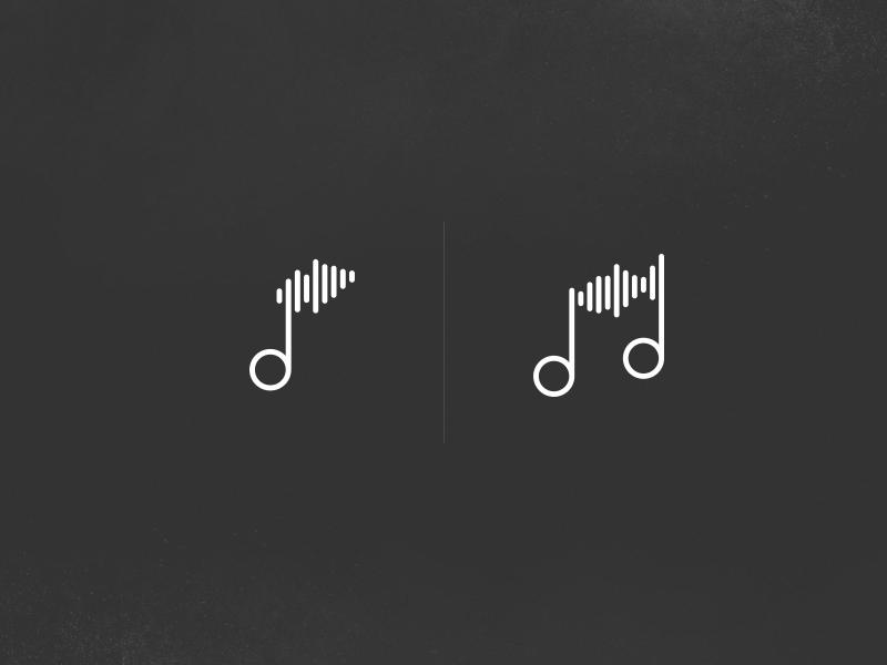 Soundwave Notes Soundwaves Music Logo Design Sound Waves Music Logo