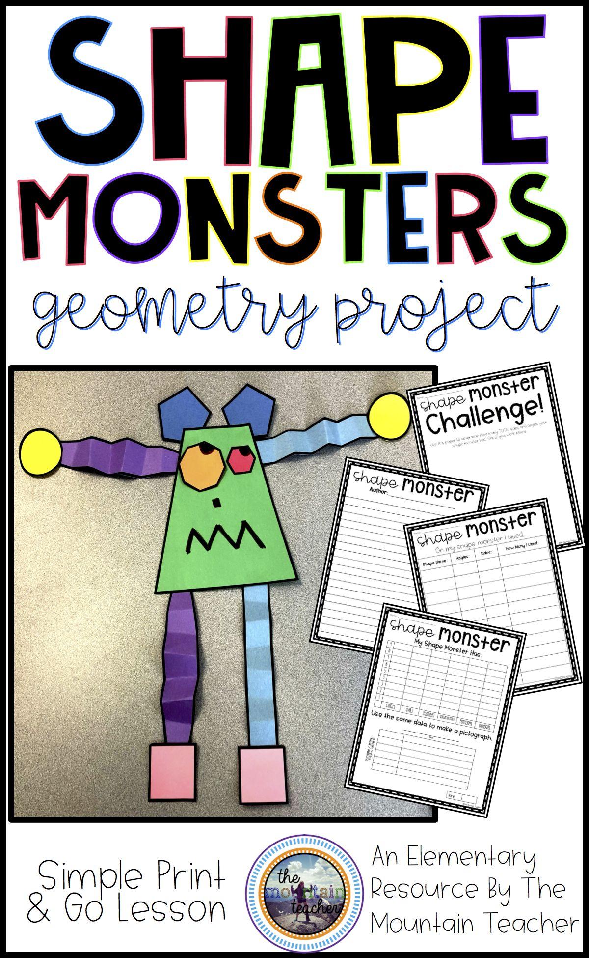 Shape Monster Geometry Project