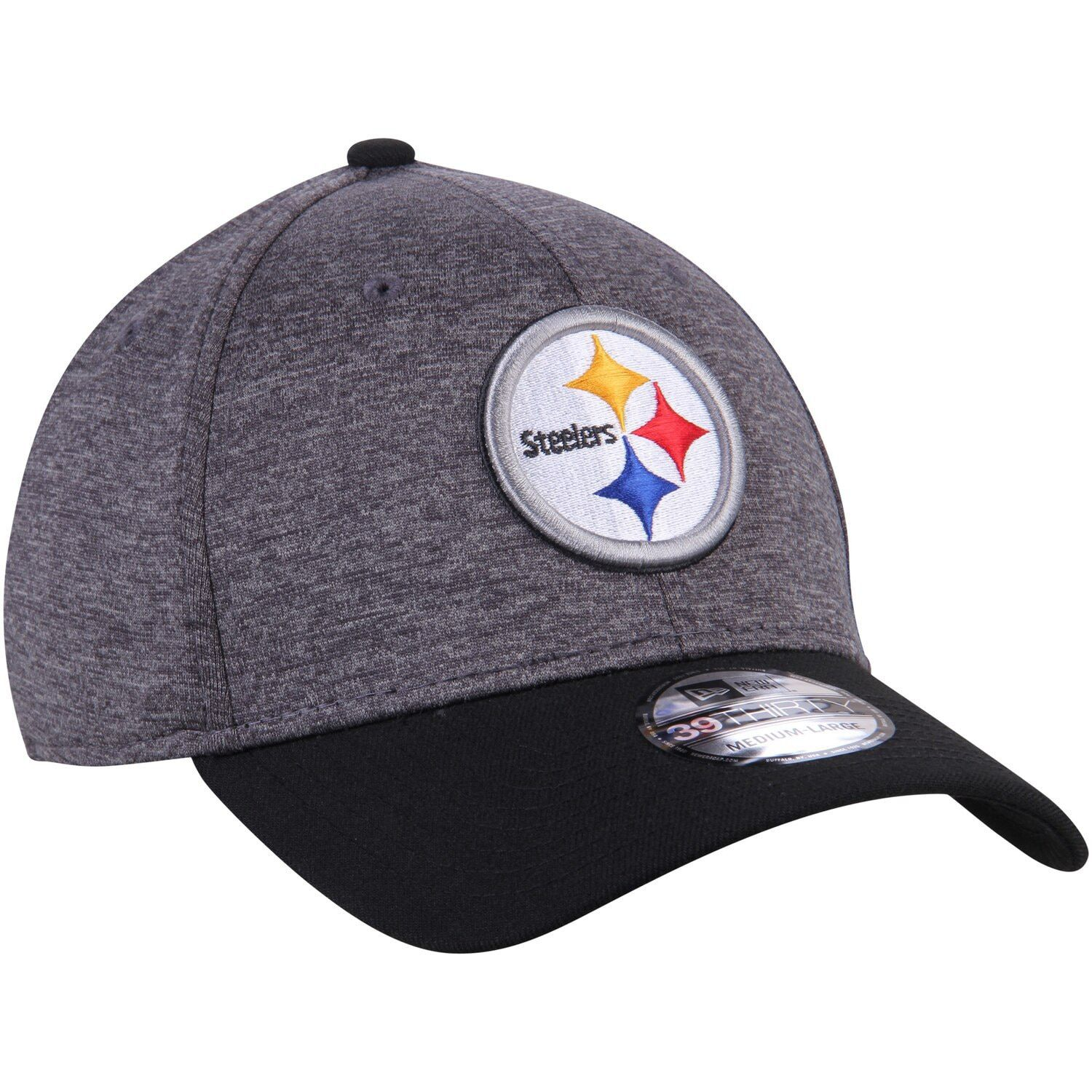 New Era 9Fifty Snapback Cap Shadow TECH Pittsburgh Steelers