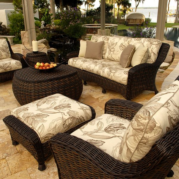 Dreux Deep Seating With Images Patio Furniture Cushions