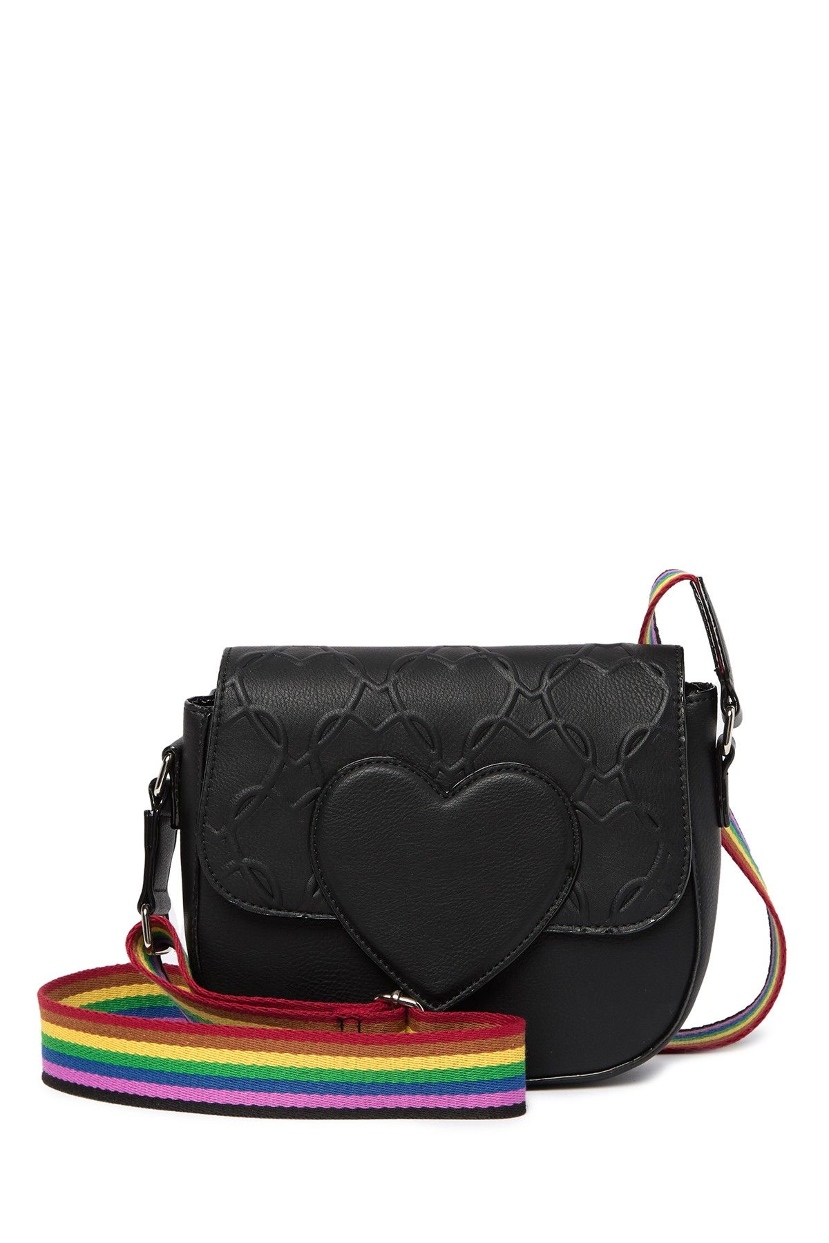 878ef098455f Betsey Johnson - Quilted Heart Crossbody Bag is now 60% off. Free Shipping  on orders over $100.