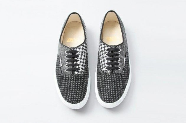 2fffdea487f7cf Beauty and Youth x Harris Tweed x Vans Authentic and Slip On