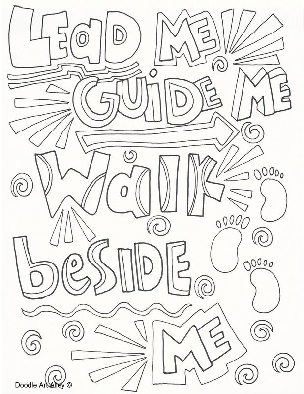primary songs doodles coloring pages