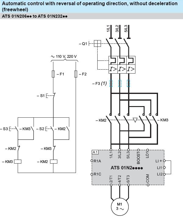 forward and reverse motor starter wiring diagram  elec eng