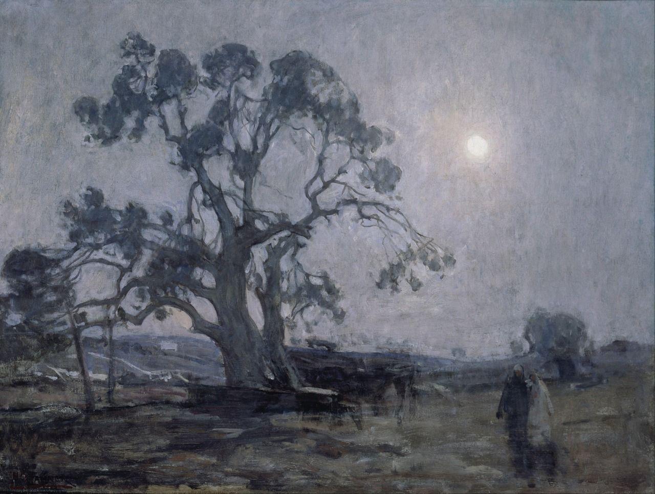 Abraham's Oak, 1905, Henry Ossawa Tanner