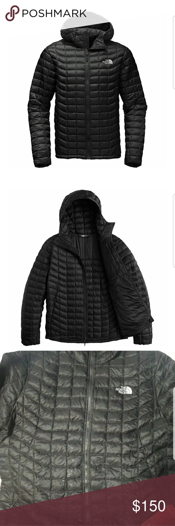 The North Face Thermoball Hoodie (L) DETAILS This hoodie