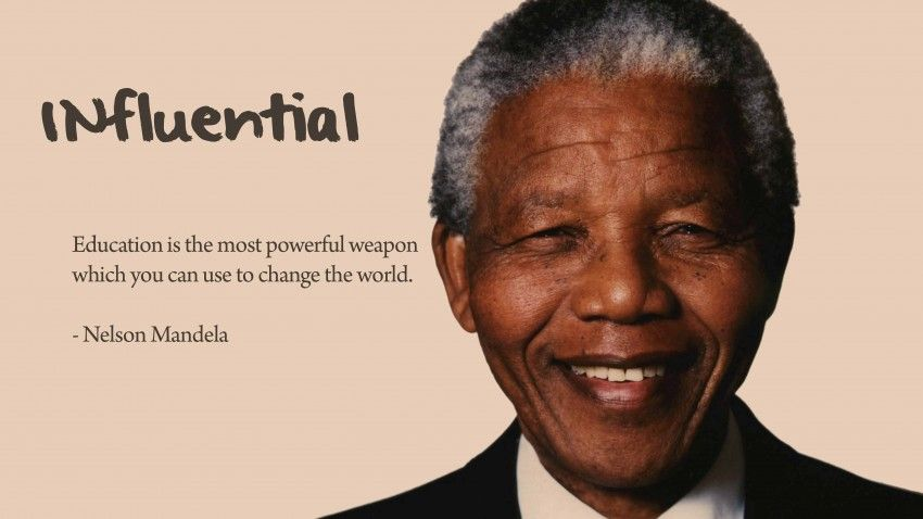Nelson Mandela Quote On Education   Love Of Life Quotes