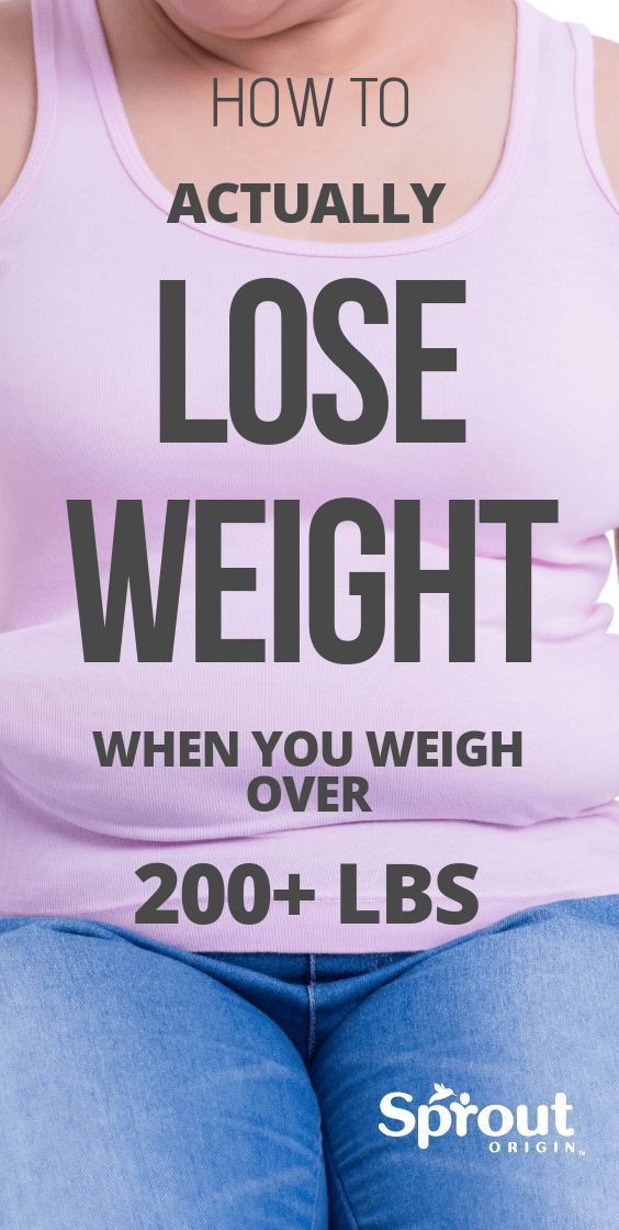 Photo of How To Actually Lose Weight When You Weigh Over 200 Lbs
