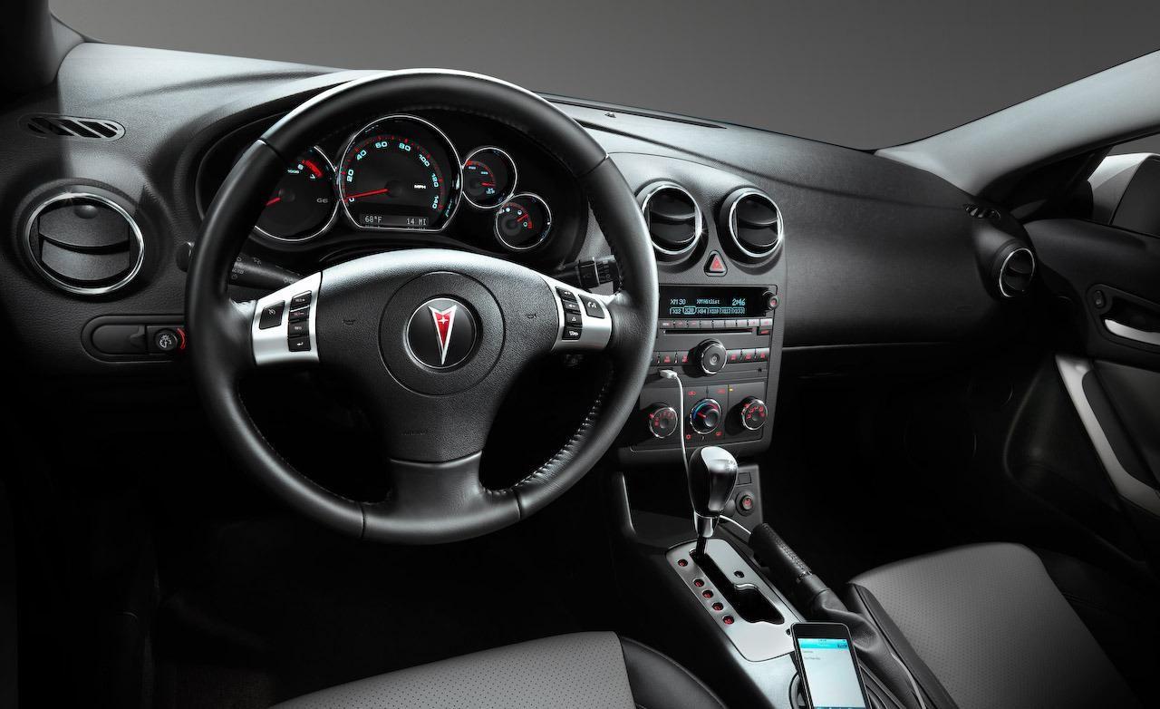 2010 G6 Gtp 4dr 2009 5 Pontiac Coupe Interior