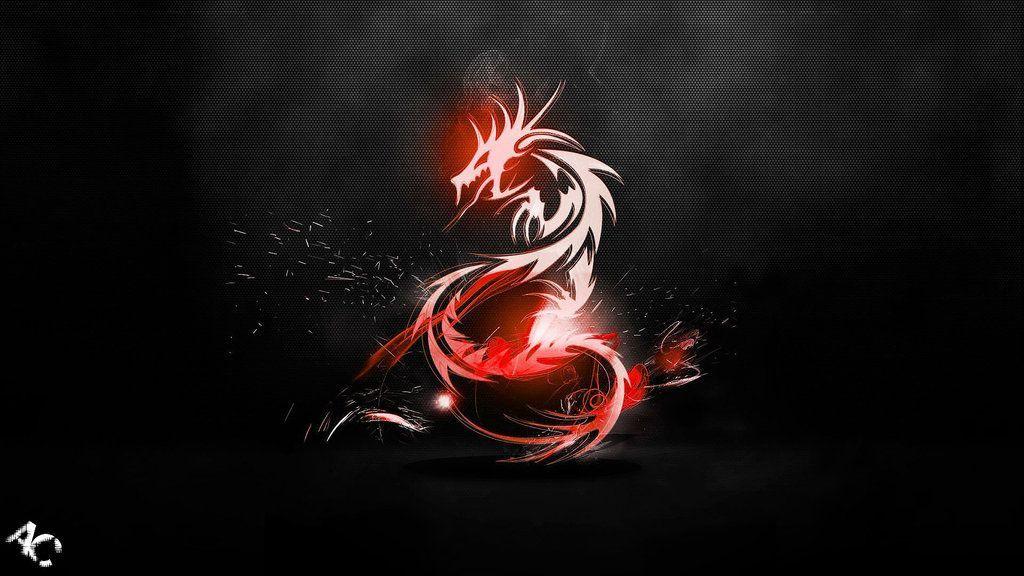 Red Dragon Wallpapers Wallpapersafari In 2019 Dark Red