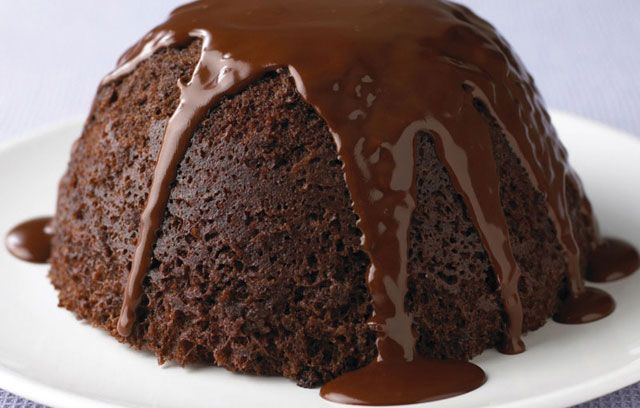 Quick And Easy To Freeze Chocolate Sponge Pudding With