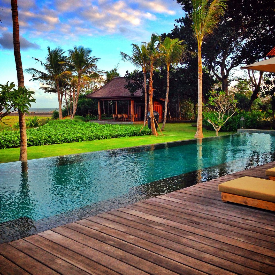 Lush garden at Jeeva Saba Resort, Bali | Travel Bali | Pinterest ...