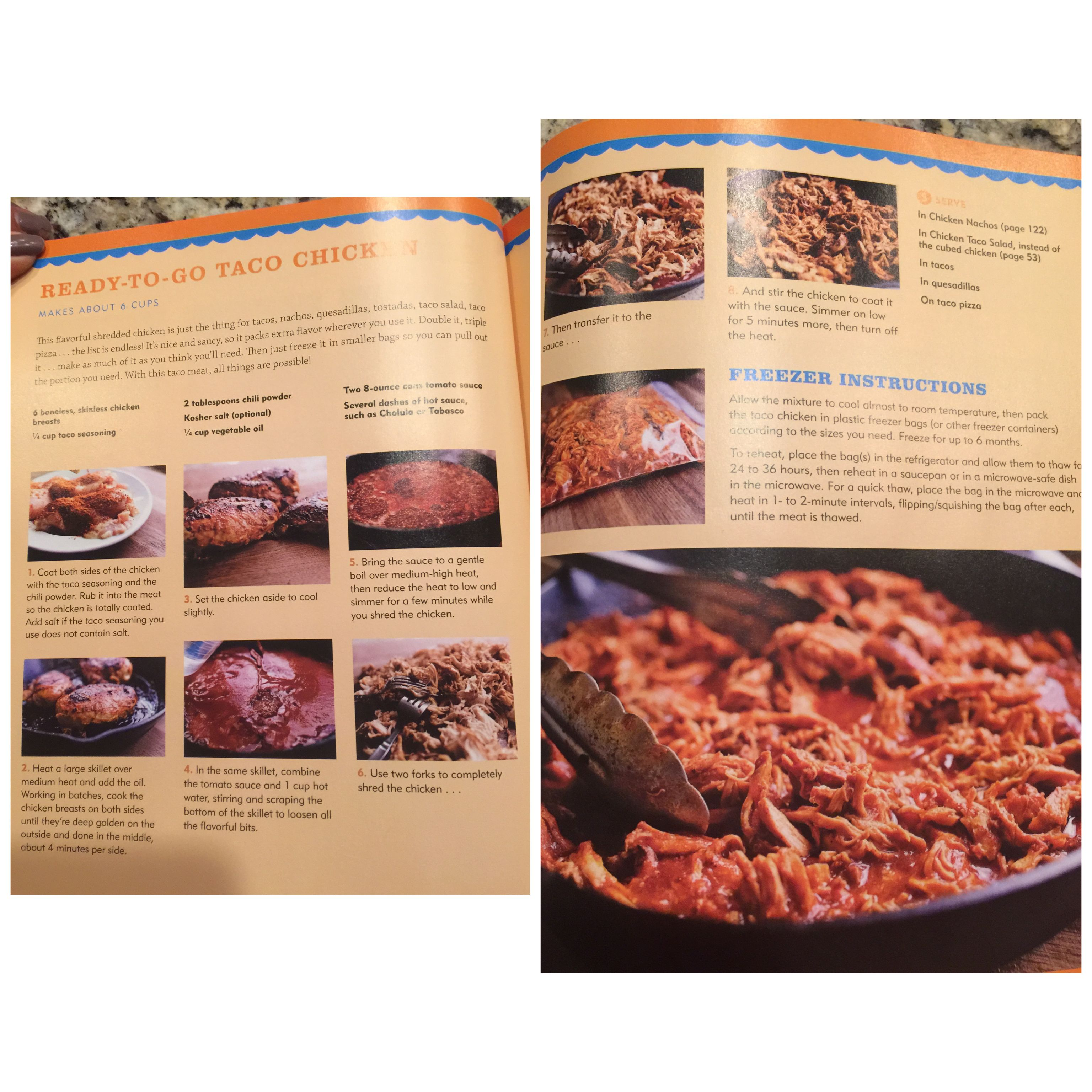 Pioneer Woman Ready To Go Taco Chicken For Freezer Pioneer Woman Freezer Meals Pioneer Woman