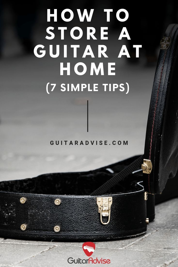 How to store a guitar at home 7 simple tips guitar