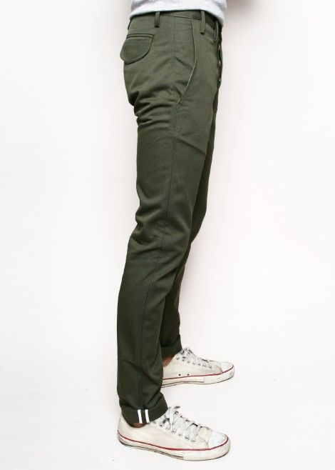 Preppy  trends fashion Chic Outfit Trends Green Chinos Men a9069bb580