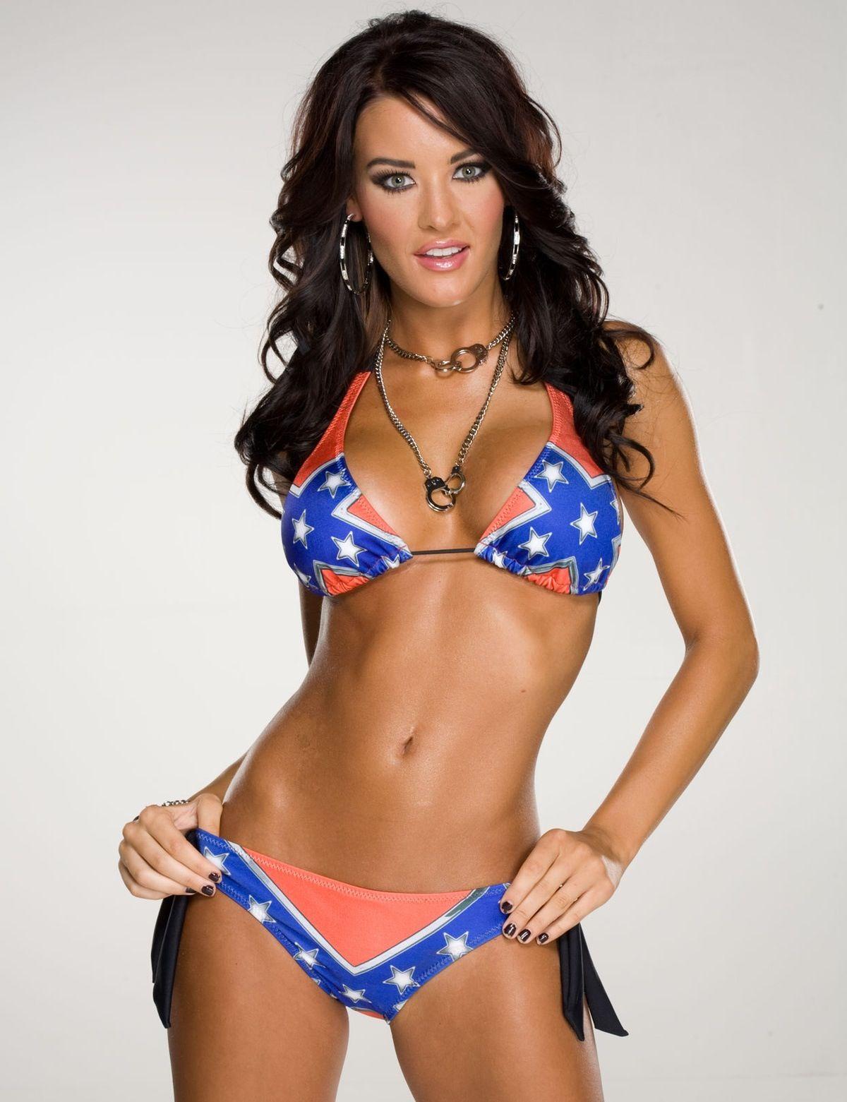 Sexy confederate shirt flag