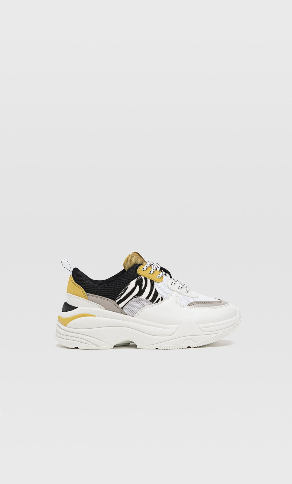 Contrast Chunky Sole Trainers Women S Trainers Stradivarius United Kingdom Trainers Women Sneakers Sport Shoes