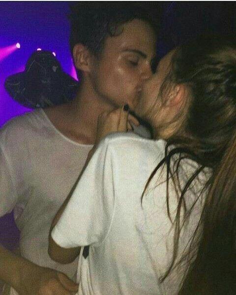 första kyss och dating