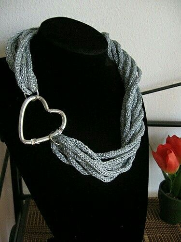 Collar Crochet Pinterest Crochet Scarves And Loom Knitting