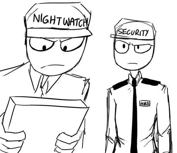Mike Amp Mika The Security Guards Rebornica Fnaf Fnaf